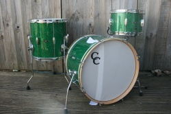 C&C Playerdate II 'BeBop' Green Glass