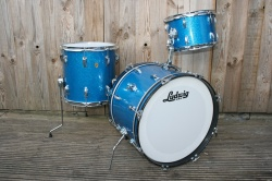 Ludwig 1968 DownBeat Outfit in Blue Sparkle