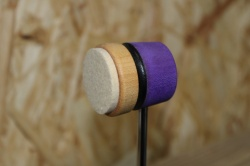 Lowboy Beaters Lightweight Felt Daddy Purple Natural with Black Stripe