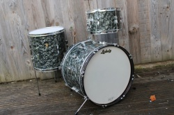 Ludwig 1965 Clubdate Outfit in Black Diamond Pearl
