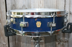 Ludwig 1968 'Downbeat' 14''x4'' in Blue Duco
