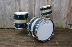 Ludwig Pre Serial Clubdate Outfit in Blue Silver Duco