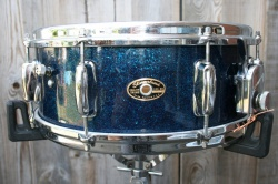 Slingerland 1960's Artist One Ply Maple in Blue Sparkle