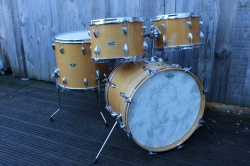 Slingerland early 70s 'Modern Solo' Outfit in Natural Maple