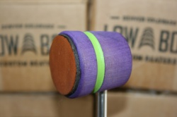 Low Boy Beaters Leather Daddy 'Light Weight' Purple w/Lime Stripe