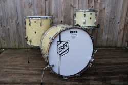 WFL 50s' 'Buddy Rich' Super Classic Outfit in White Marine Pearl