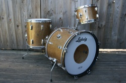 Ludwig Pre-Serial DownBeat Outfit in Champagne Sparkle