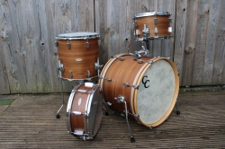 Used C&C 12th&VIne Walnut Poplar Be Bop with Snare
