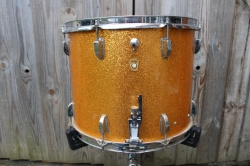 Ludwig 'Aug 9 1963 Pre Serial  Parade Snare in Gold Sparkle