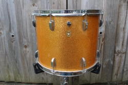 Ludwig 'Mar6 1963 Pre Serial  Parade Tenor in Gold Sparkle