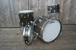 Ludwig'Nov 1965'  DownBeat Outfit and Snare in Galaxy Sparkle