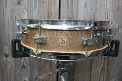 Ludwig 1966 'Downbeat' 14''x4'' in Champagne Sparkle