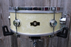 George Way Elkhart  Studio 14x5.5'' in White Marine Pearl