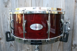 Black Swamp Percussion 'MultiSonic' Series Cherry Rose Wood Maple 14x6.5