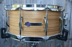 Black Swamp Percussion Dynamicx 'BackBeat' Series Zebra Wood Maple 14x6.5