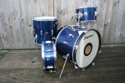 Slingerland 'Stage Band' no.74N Outfit in Blue Sparkle