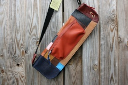 CacSac Gig Bags Streamline Stick Bag in Patchwork Leather