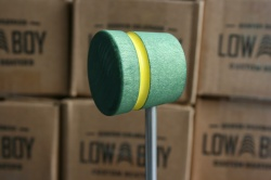 Low Boy Beaters 'Light Weight' Custom Green w/Yellow Stripe