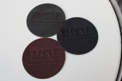 Tackle Instrument Supply Co Leather Kick Patch
