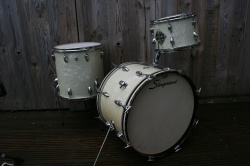 Slingerland 'Aug 1961' Modern Jazz Outfit N9 in White Marine Pearl