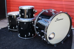 Slingerland late 70's 'Classic Rock' Outfit in Black