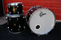Gretsch 70's Stop Sign 'Name Band' Outfit in BLack Nitron