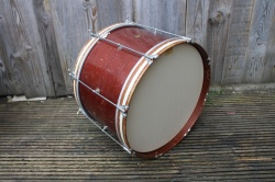 Slingerland 1940's Aluminium 'Cloud Badge' RadioKing Outfit