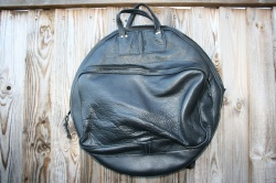 CacSac Gig Bags 22'' Black Leather Cymbal Bag