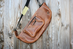 CacSac Gig Bags 'Distressed Brown' Leather Stick Bag