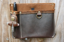 Tackle Instrument Supply Co Leather Gig Pocket