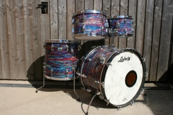 Ludwig 70's 'Big Beat' Outfit in Psychedelic Red
