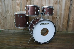 Ludwig 1969 Hollywood Outfit in Burgundy Sparkle