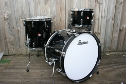 Barton Drum Co Vintage Maple 20 12 14 in Galaxy Sparkle Lacquer