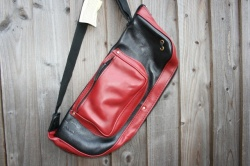 CacSac Gig Bags 'Two Tone' Red&Black Stick Bag