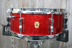 Ludwig 1965 'Jazz Festival' in Red Sparkle
