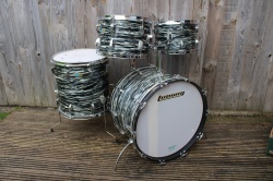 Ludwig 1972 Big Beat Outfit in Oyster Black Pearl