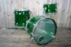 Ludwig 1970's Vistalite Super Classic Outfit in Green