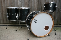 C&C Playerdate I Custom 'Big Beat'  in Black Sparkle