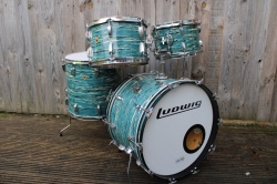 Ludwig 'Apr18 1969' Hollywood Outfit in Oyster Blue Pearl