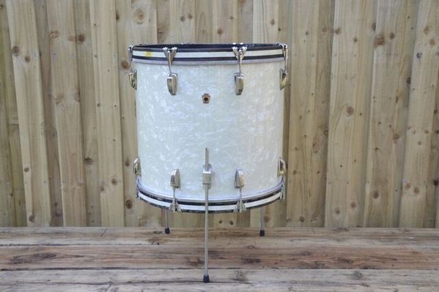 WFL 1950's 'Compacto'  Cocktail Drum